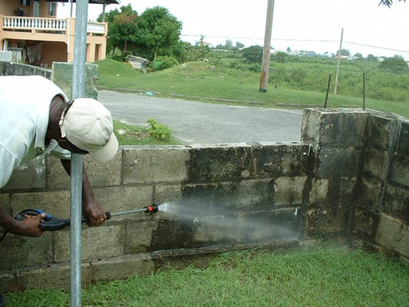 garden wall cleaning experts